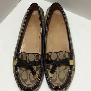 Coach Frida Loafers Size 10B